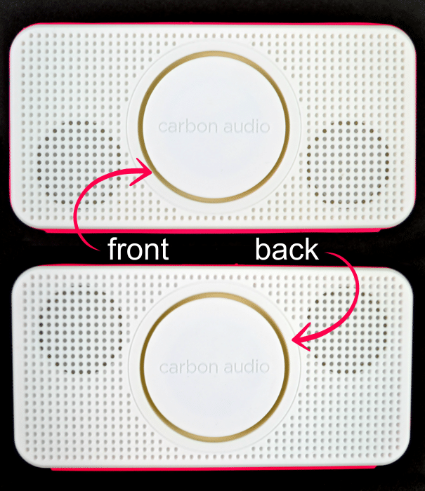 360 degrees of sound with the Carbon Audio Pocket Speaker #PocketBoom #shop #cbias