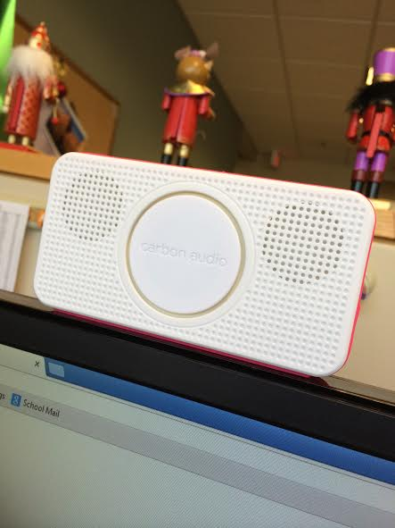 Pocket Speaker at Work #PocketBoom #shop #cbias