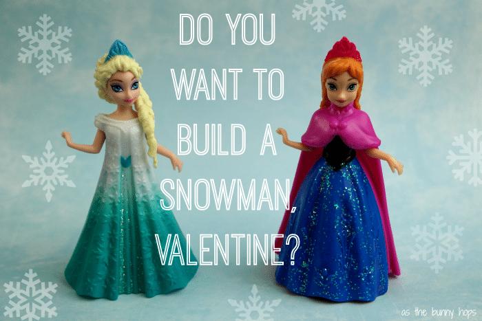 Elsa Anna Frozen Valentine