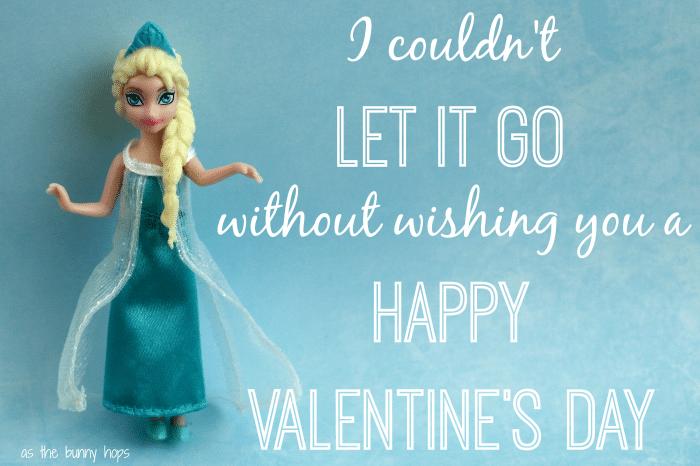 Elsa Frozen Valentine