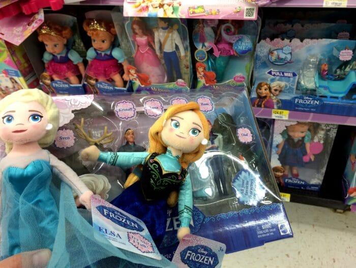 FROZEN Toys at Walmart #FrozenFun, #shop, #cbias