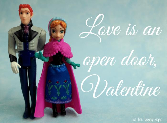 Hans Anna Frozen Valentine