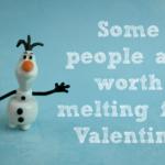 FROZEN Printable Valentines