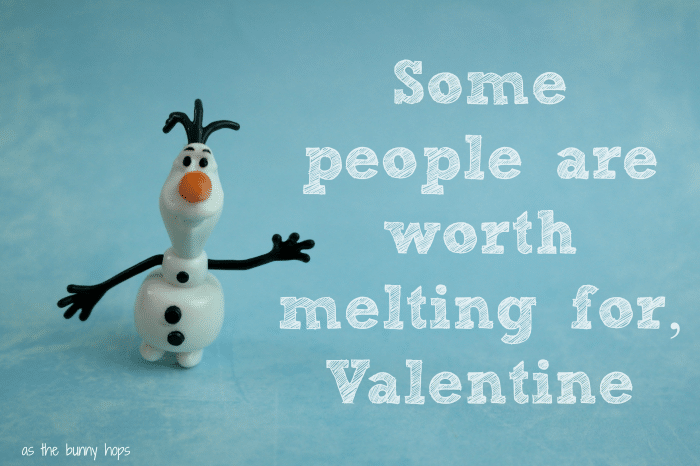 Olaf Worth Melting For Valentine FROZEN #FrozenFun, #shop, #cbias
