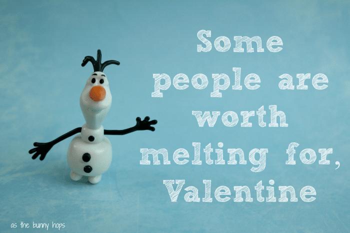 Olaf Worth Melting For Valentine FROZEN #FrozenFun, #shop, #cbias