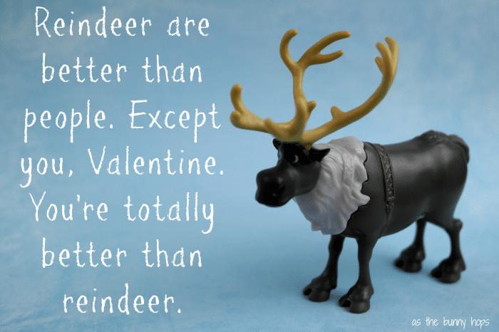 Sven FROZEN Valentine Reindeer #FrozenFun, #shop, #cbias