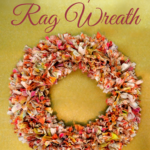 {Tutorial} Tie Dye Rag Wreath