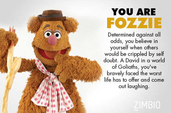 You Are Fozzie