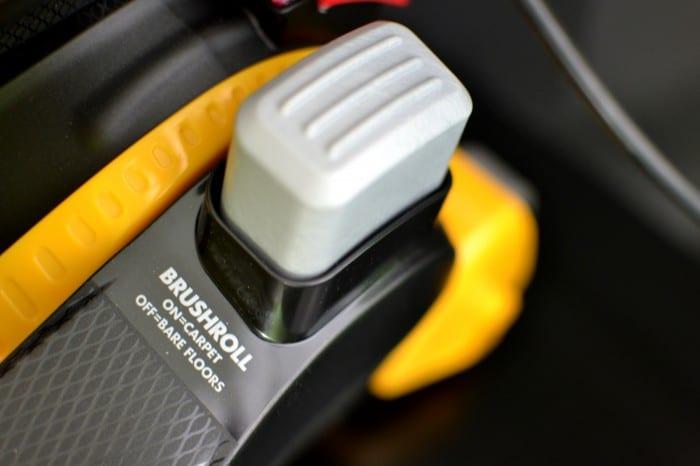 Brushroll Control on the Eureka AirSpeed All Floors Vacuum #EurekaPower #shop