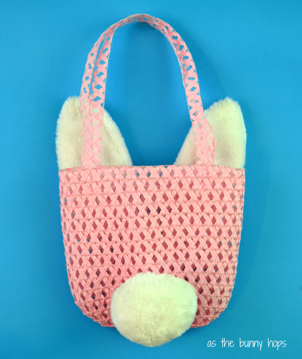 Easter Bunny Purse Back