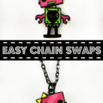 {Fashion Friday} Easy Chain Swaps on Jewelry