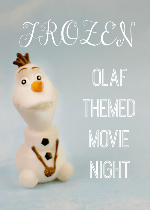FROZEN Olaf Themed Movie Night #FROZENFun #shop