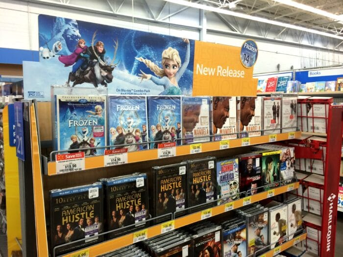 Frozen at Walmart #FROZENFun #shop