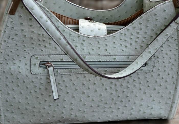 Irene Ostrich Shoulder Bag from Emilie M.
