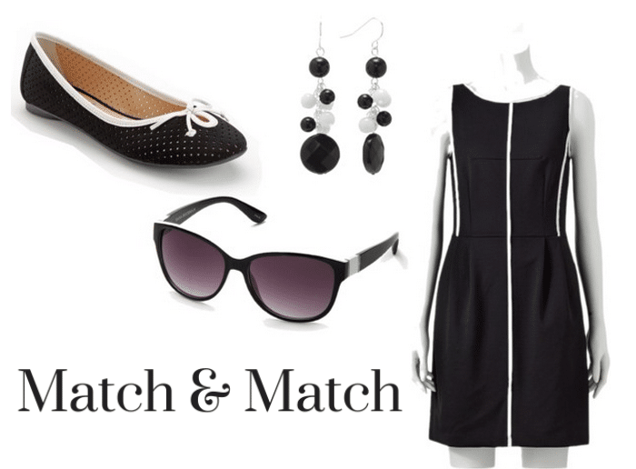 Match and Match Black White Collection