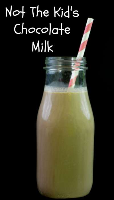Not The Kid's Chocolate Milk #NickMomPJParty