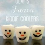 Olaf Themed FROZEN Fun Movie Night