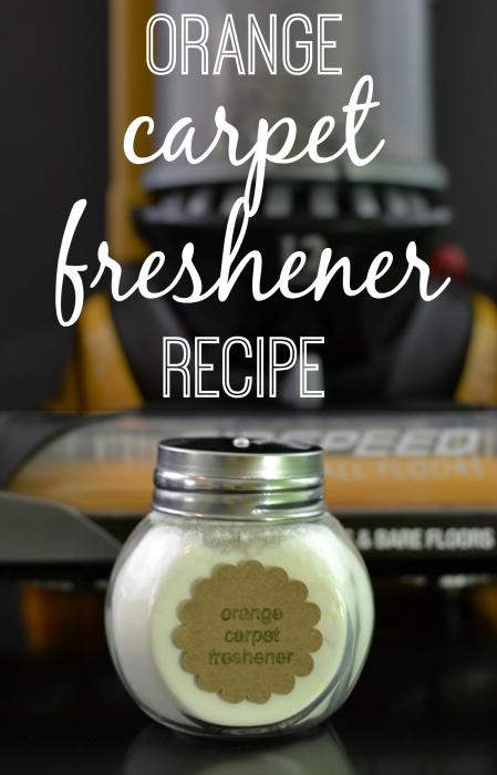 All Natural Orange Carpet Freshener Recipe #EurekaPower #shop