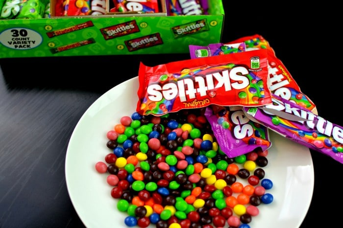 Plate Of Skittles #VIPFruitFlavors #collectivebias #shop