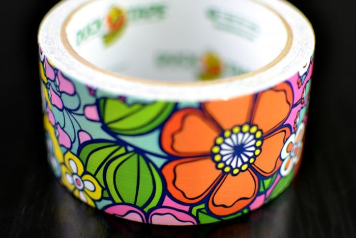 Retro Floral Duct Tape