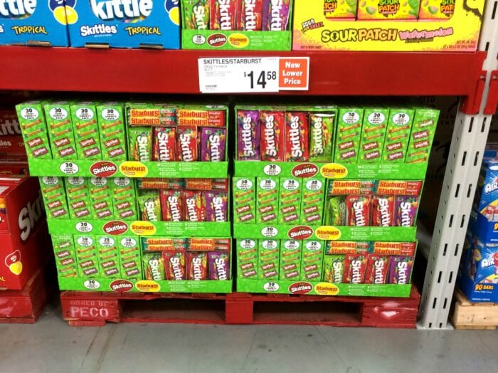 Skittles and Starburst at Sam's Club #VIPFruitFlavors #collectivebias #shop
