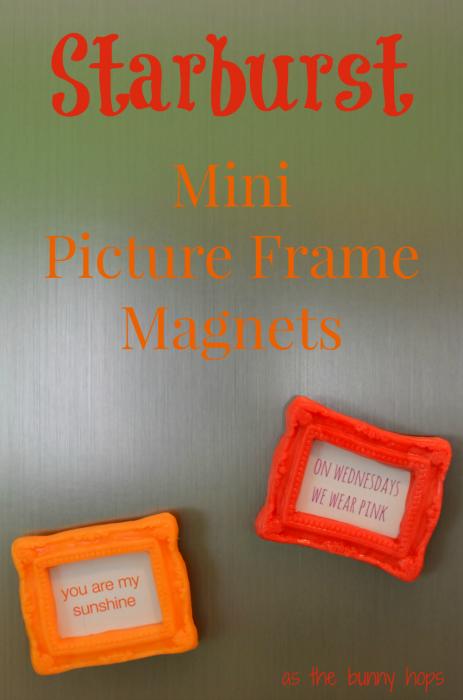 Starburst Mini Picture Frame Magnets #VIPFruitFlavors #collectivebias #shop