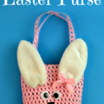 {Tutorial} Super Easy Easter Bunny Purse