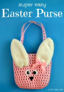 Super Easy Easter Purse Tutorial with Target Dollar Spot supplies!