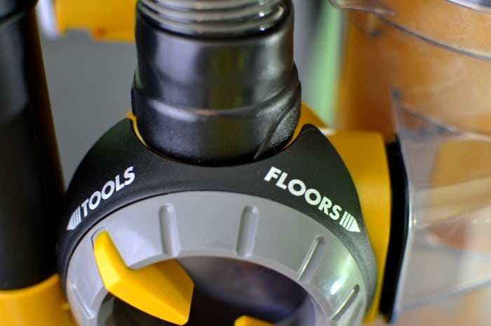 Tools or Floors Control on the Eureka AirSpeed All Floors Vacuum #EurekaPower #shop