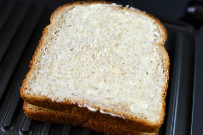 Grilled Cheese Mayo Butter for the ultimate grilled cheese!