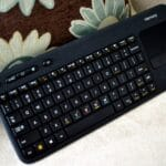 The Logitech Harmony Smart Wireless Keyboard-Exclusively at Best Buy