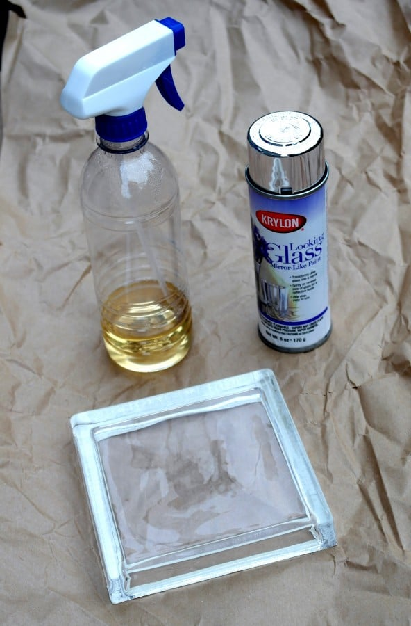 Supplies Needed To Create Your Own Mercury Glass Jewelry Tray