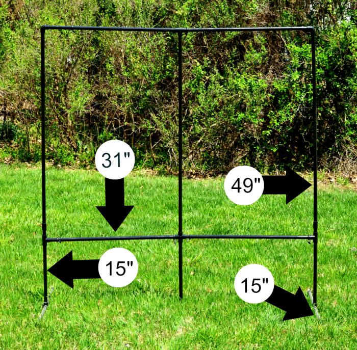 PVC Screen Frame Measurements
