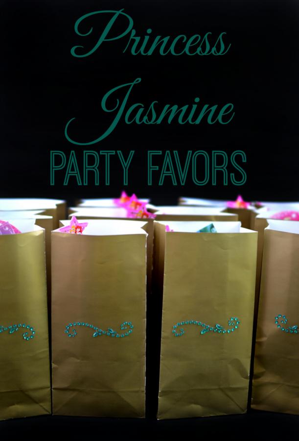 Princess Jasmine Party Favors