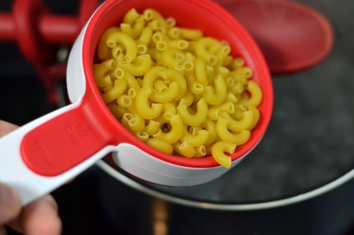 Half Cup Elbow Pasta