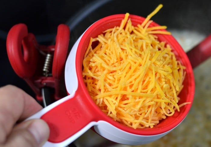 Half Cup Shredded Cheese