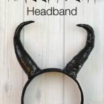 {Tutorial} Maleficent Headband