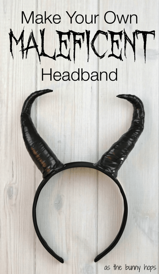 How To Make Your Own Maleficent Headband