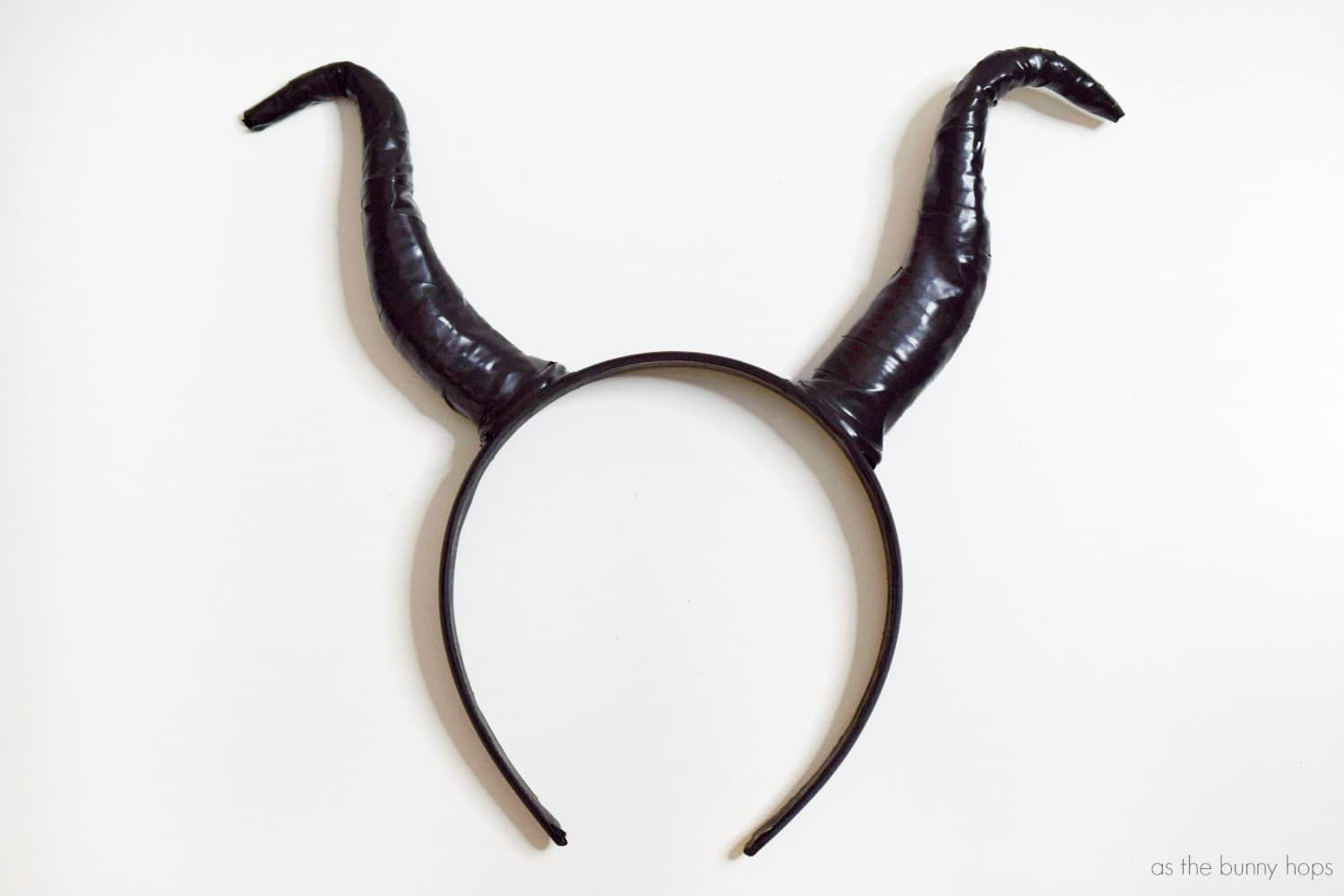 Diy Maleficent Headband As The Bunny Hops