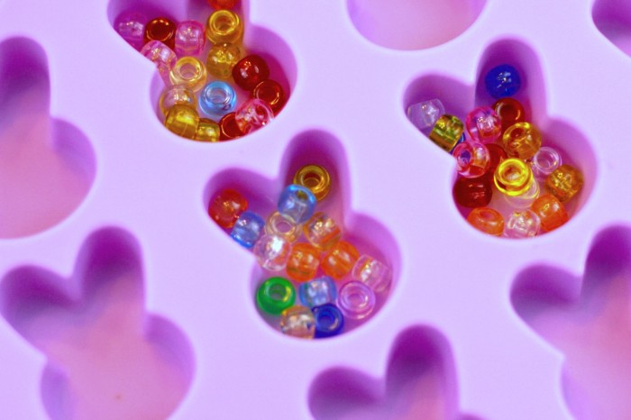 Pony beads ready to melt into fun jewelry!
