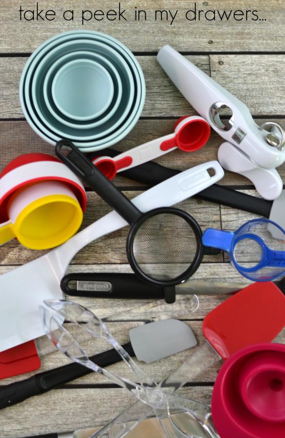 kitchen drawer supplies