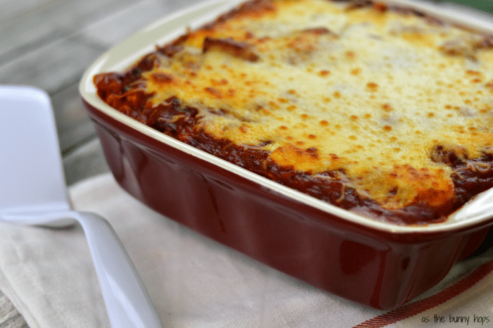 You'll love this easy vegetarian mushroom lasagna. You'll never buy frozen again!