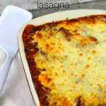 {Recipe} Vegetarian Mushroom Lasagna