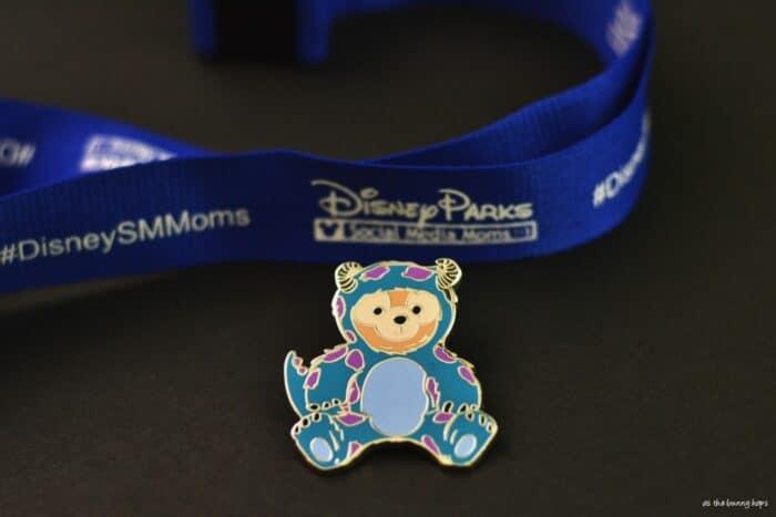 Sulley Duffy Disney Pin