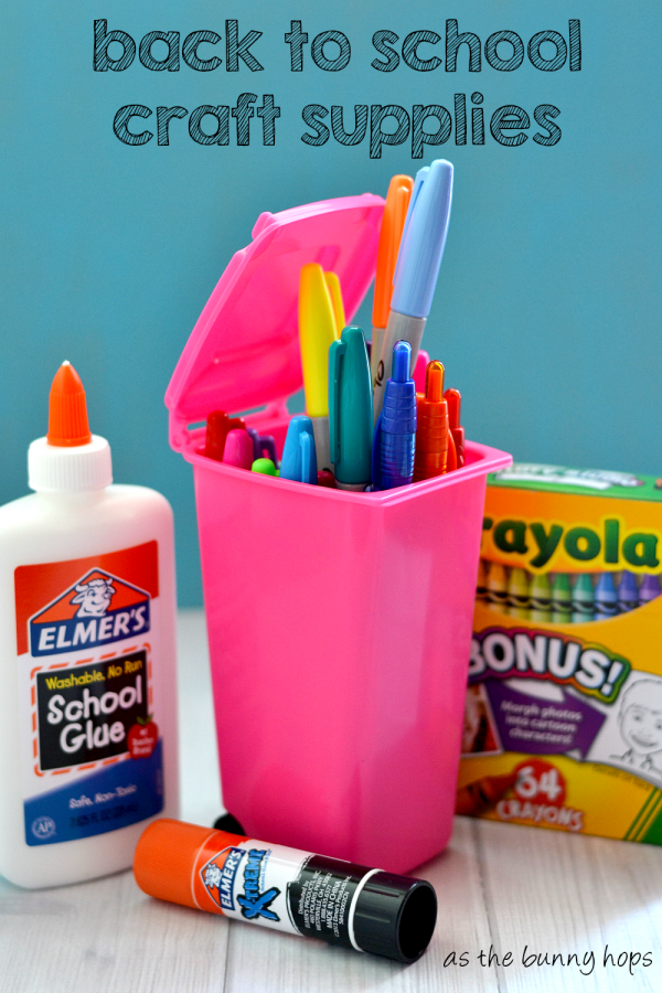 Stock up on craft supplies during back to school season! #savingscatcher