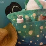 {Tutorial} Bubble Tie Dye Tote Bag