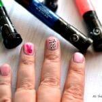 Easy Stencil Nail Art