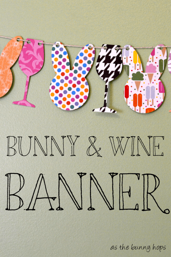 Bunny and Wine Banner