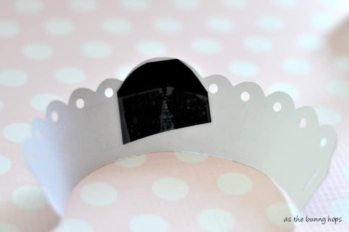 Cupcake wrapper inside