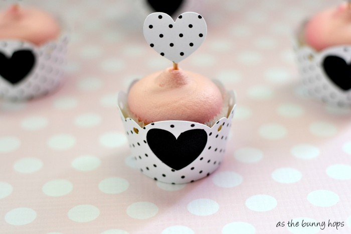 Heart Cupcake Wrappers
